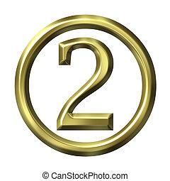 3D Golden Number 2