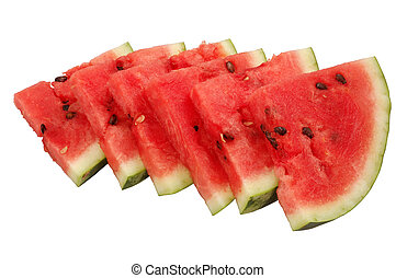 Fresh Watermelon - Fresh and juicy watermelon slices...