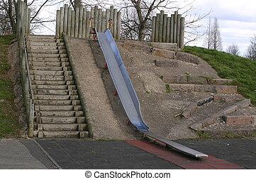 large slide