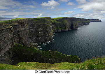 Cliffs of Moher - The Cliffs of Moher in the republic of...