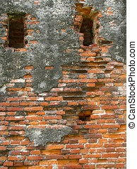 Old Ruins - -- remnants of the old city wall of Tainan in...