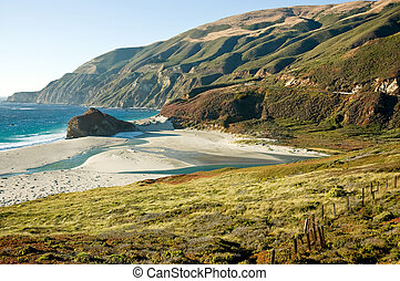 Californias Big Sur - The Big Sur coast of California, at...
