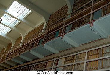 Prison Interior - inside Alcatraz