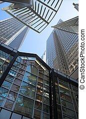 Skyscrapers towering in Calgary Alberta