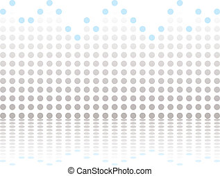 bar graphical gray - Illustrated abstract background showing...