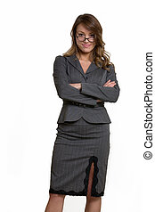 School teacher - Attractive intelligent looking woman in...