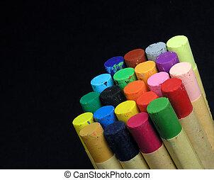 pastels  -  oil pastels