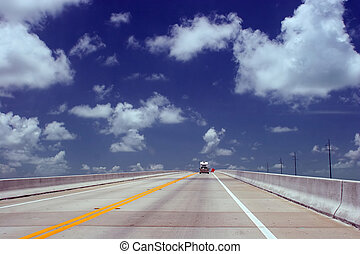 Highway to heaven - Road to Key West, FL Nice space to copy...
