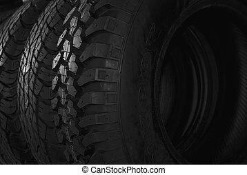 fila, pneus