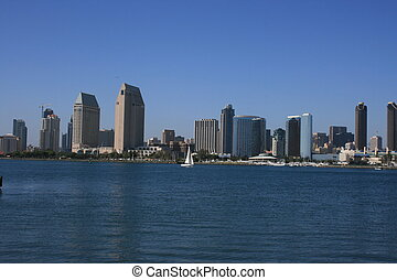 San Diego - Downtown San Diego as seen from Coronado Island