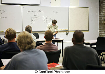 Adult Education - Electrical Circuit - An adult education...