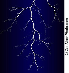 Lightning - Illustration of a lightning bolt