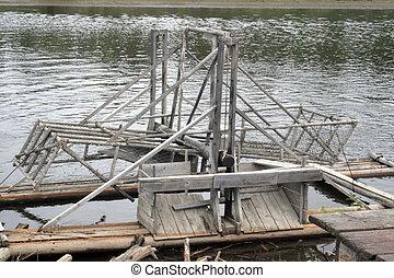 Alaskan Salmon Trap - An Alaskan Salmon Trap