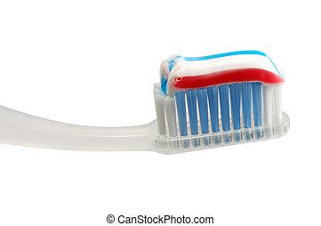 cepillo de dientes, aislado