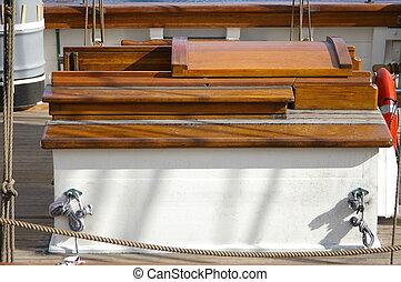 Ships Hatch - A hatch to below decks on a tall ship.