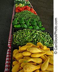 Farmer\'s Market - Vegetables at a farmer\'s market.