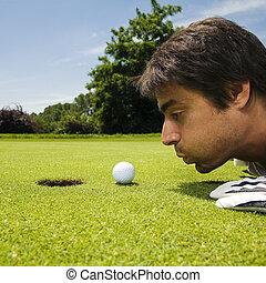 golfe, clube