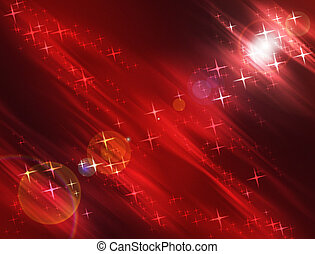 Stars Background - Cosmic Stars and Lights Luminescent...