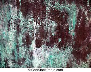 Copper Pattern - -- a random pattern of oxidized bronze...