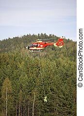 Rescue Chopper Lift