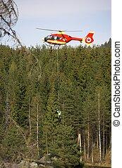 Rescue Chopper Lift