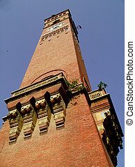 Clock Tower - The clock tower at Lucknow India called...