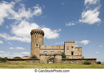 Salvana Tower in Catalonia - Salvana tower in Santa Coloma...