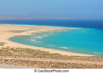 Windsurfer in Fuerteventura