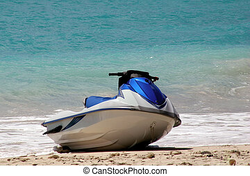 aimg_8837 - a jet ski on the beach