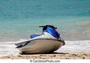 aimg_8837 - a jet ski on the beach