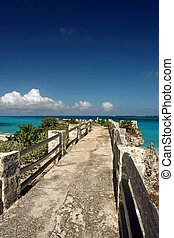 img_0262 jetty at sam lords beach, Barbados - the jetty at...