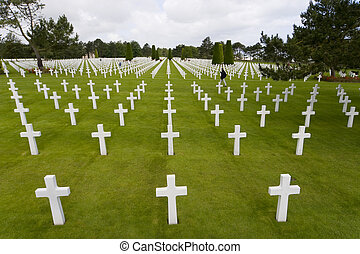 The Ultimate Sacrifice - The graves of World War 2 US...