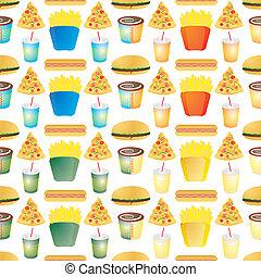 fast food tile multi