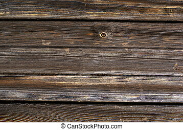 Wooden background - Weathered wooden background
