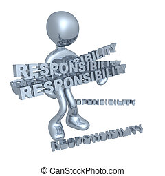 Lots of responsibilities - Person with lots of...