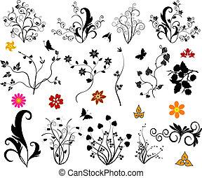 Ornamental design elements - illustration