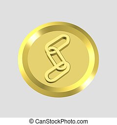 gold link icon