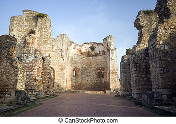 monastery of san francisco ruins santo domingo dominican...