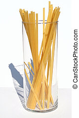 Fetuccini 4 - Fetuccini in a glass jar