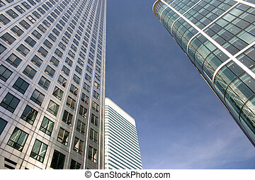 business buildings - business building in london city