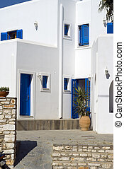 typical greek island guest house - typical greek island...