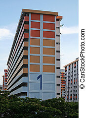 Singaporean apartments - Singaporean public housing...