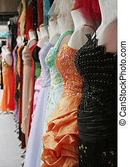 Evening gowns with sequins - fashion and beauty. -...