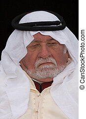 old arabian man