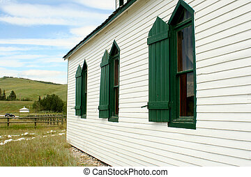 Country Church - a side view of a country church