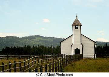 Country Church - an old country church that is found in...