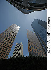 Los Angeles Buildings - An abstract view of some buildings...