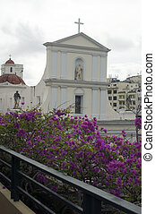 church of san juan - cathedral church of san juan in old san...