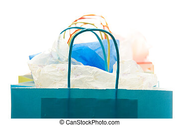 Shopping bags - A shot of a bunch of shopping bags ( shallow...