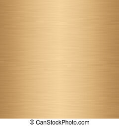 brushed gold - a large sheet of lightly brushed gold...